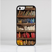 The Vintage Bookcase V1 Skin-Sert Case for the Apple iPhone 5/5s