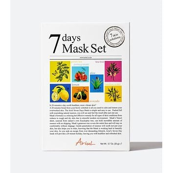 7 Days Mask Set