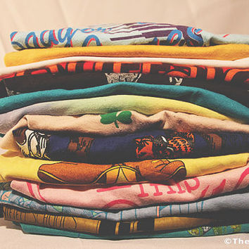 SOFT Vintage T-Shirts (1970s-1990s) - Mystery Shirts
