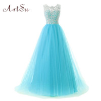 Artsu 2017 Women Tutu Dress Lace Ball Gown Princess Dress Sleeveless Three Layer auze Party Dresses 3 Colors Vestidos ASDR100119