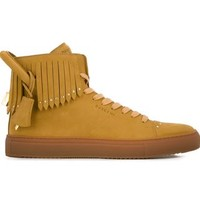 Buscemi '125mm' Fringed High-top Sneakers - G & B - Farfetch.com