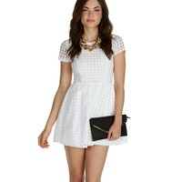 Sale-the Heart Of White Lace Dress