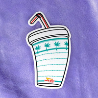 """In-n-out"" Sticker"