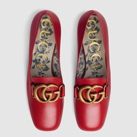 GUCCI  Rough heeled high heel shoes