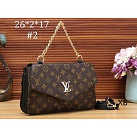 LV 2018 new diagonal cross bag portable bag flip bag (Use on both sides) F-OM-NBPF #2