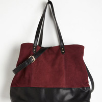 Boho Alright, Berry On! Tote by ModCloth