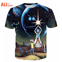 2017 New Arrival Rick And Morty T Shirt