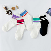 A Pair Cotton Women's Socks Brief Fashion Preppy Style Calcetines Pure And Fresh Solid Korean Socks For Women