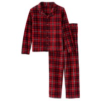 Jelli Fish Plaid 2-Piece Pajama Set - Boys 4-16 (Red Plaid)