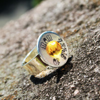 Mom Ring - Mom of Steel Ring - Personalized Ring