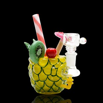Empire Glassworks Pineapple Paradise Rig
