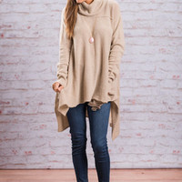 Warm Reflections Sweater, Camel