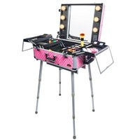 SHANY Cosmetics Studio Togo Makeup Case with Light, Pink