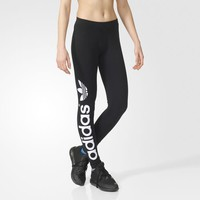 adidas LINEAR LEGGINGS - Black | adidas US