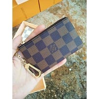 LV Classic Women's Short Mini Cardet Wallet