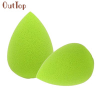 Beauty Girl 2PC Water Droplets Soft Beauty Makeup Sponge Puff Concealer Powder Foundation Puff Aug 12