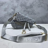 Dior Saddle Bag Trend Classic Shoulder Messenger Bag