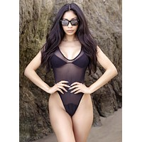Miss James Bond swimsuit