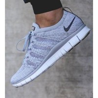 """NIKE"" Trending New Fashion Sports Casual Running Shoes Grey"