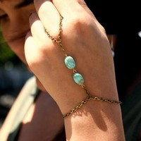 New Arrival Hot Sale Awesome Gift Shiny Stylish Great Deal Accessory Handcrafts Turquoise Bracelet [6586257671]