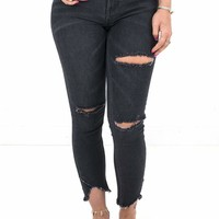 Women's Free People Sunny Midrise Skinny Denim