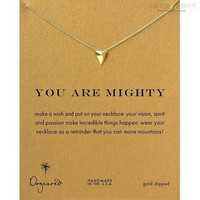 New Arrival Shiny Gift Jewelry Stylish Geometric Alloy Lock Necklace   With Card [6345012353]