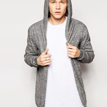 ASOS Knitted Hooded Cardigan