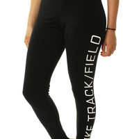 Nike Women's Track And Field Sports Casual Leggings