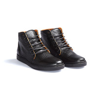 No Label Shoe Co.: High Top Shoe Black