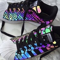 Adidas Casual Running Chameleon Reflective Sneakers Sport Shoes Tagre™