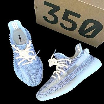 Samplefine2 Adidas Yeezy 350 V2 Boots Tide brand luminous personality men and women sports shoes