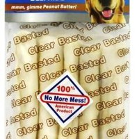 """Pet Factory USA Clear Coated Chicken Dog Bones 5-6"""" 5pk"""