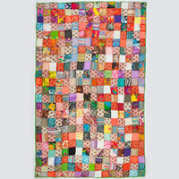 Raj Kantha Stitched Quilt Assorted One Size For Women 23555295001