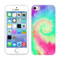 Head Case Designs Helicoid Tie Dye Gel Back Case Cover for Apple iPhone 5 5s