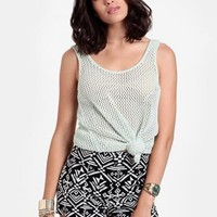 Held For Ransom Printed Shorts