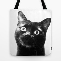 hello! Tote Bag by Marianna Tankelevich