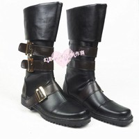 NieR Automata YoRHa No. 9 Type S 9S Cosplay Boots Shoes Male Female Professional Handm