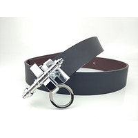 Givenchy belt New double silver buckle belt for men and women