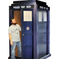 Doctor Who Life-Size 3D TARDIS