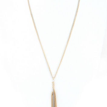 Styled Necklace - Gold and Silver