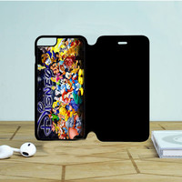 Disney Character Collage iPhone 6 Plus Flip Case Dewantary