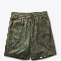 Diamond Supply Co. - Diamond Arch Basketball Shorts - Olive Camo