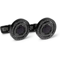 PRODUCT - Alfred Dunhill - Galaxy Compass-Engraved Cufflinks - 375177 | MR PORTER