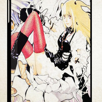 Anime Death Note Misa X1495 iPad 2 3 4, iPad Mini 1 2 3, iPad Air 1 2 , Galaxy Tab 1 2 3, Galaxy Note 8.0 Cases