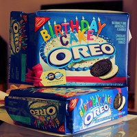 Birthday Cake Oreo Cookies - $18