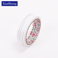 3PCS 5mmX12m Double Sided Tape Double Faced Tape Adhesive Double Sided Office Adhesive Two Sided Tape