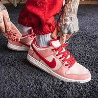 Nike SB Dunk Low Fashion Women Men Casual Sport Shoes Sneakers Pink