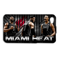 Miami Heat Players Cool Custom Case Cover iPhone 4 iPhone 4s iPhone 5 iPhone 5s