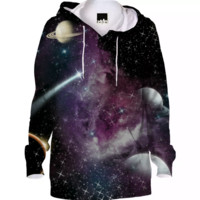 Galaxy/ Hoodie created by duckyb | Print All Over Me