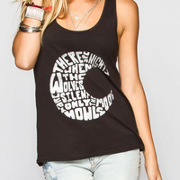 Hurley Wolves Moon Womens Tank Black  In Sizes